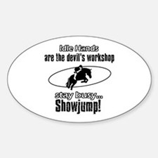 Stay Busy Showjump Decal