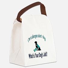 Unique Peanut allergy Canvas Lunch Bag