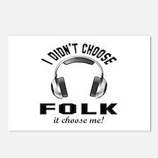 I did't choose Folk dance Postcards (Package of 8)