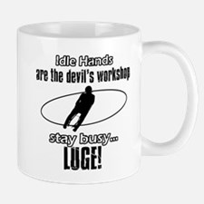 Stay Busy Luge Mug