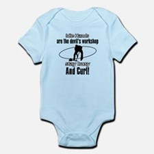 Stay Busy Curl Infant Bodysuit