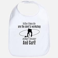 Stay Busy Curl Bib