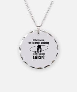 Stay Busy Curl Necklace