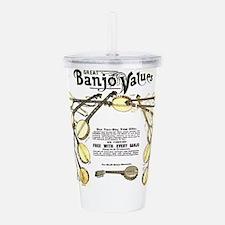 Great Banjo Values Acrylic Double-wall Tumbler