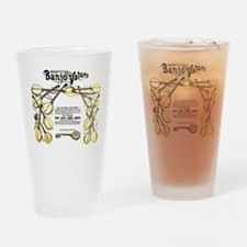 Great Banjo Values Drinking Glass