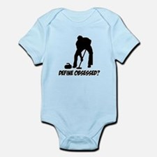 Curling Define Obsessed Infant Bodysuit