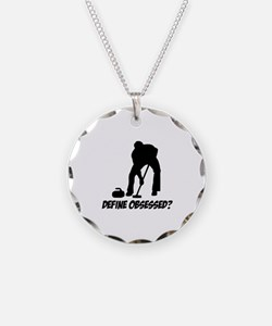 Curling Define Obsessed Necklace