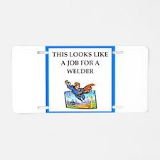 Job joke Aluminum License Plate
