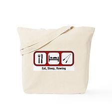 Eat, Sleep, Rowing Tote Bag