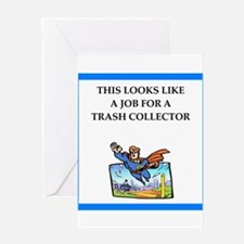 trash Greeting Cards