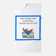 trash Beach Towel