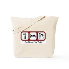 Eat, Sleep, Pole Vault Tote Bag