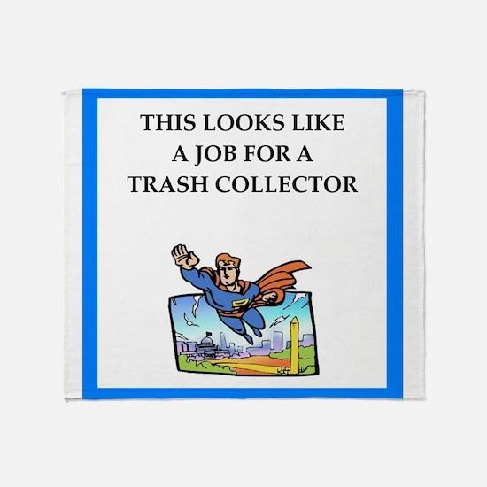 trash Throw Blanket