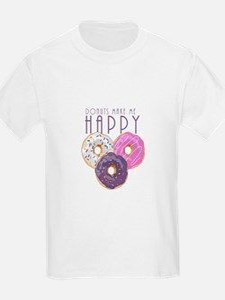 Donuts Make Me Happy T-Shirt