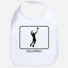 Mens Volleyball (white) Bib