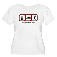 Eat, Sleep, Long Jump T-Shirt
