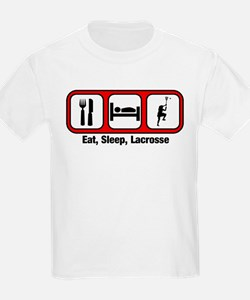 Eat, Sleep, Lacrosse T-Shirt