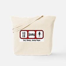 Eat, Sleep, Jump Rope Tote Bag