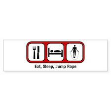 Eat, Sleep, Jump Rope Bumper Bumper Sticker