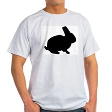 The Rabbit Ash Grey T-Shirt
