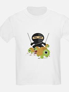 Ninja and Turtles T-Shirt