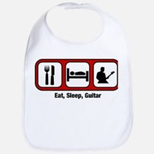 Eat, Sleep, Guitar Bib