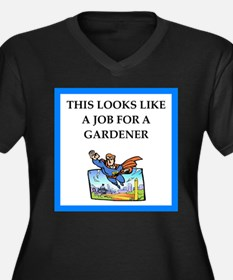 gardener Plus Size T-Shirt