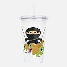 Ninja and Turtles Acrylic Double-wall Tumbler