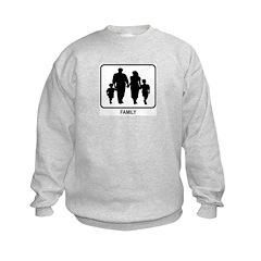 Family (white) Sweatshirt