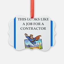 contractor Ornament
