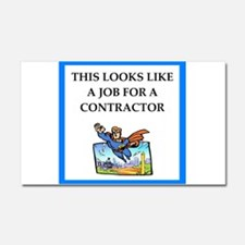 contractor Car Magnet 20 x 12