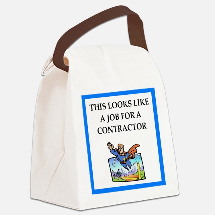 contractor Canvas Lunch Bag