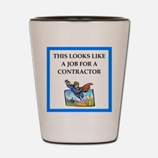 contractor Shot Glass