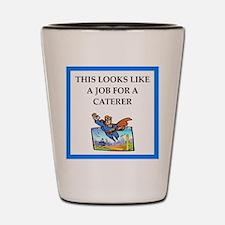 caterer Shot Glass