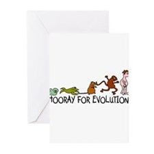 Hooray for Evolution Greeting Cards (Pk of 10)