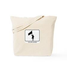 Color Guard (white) Tote Bag