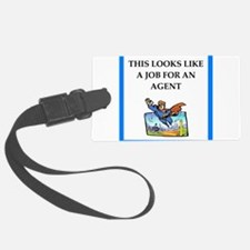 agent Luggage Tag