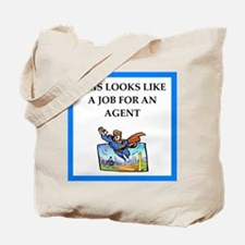 agent Tote Bag