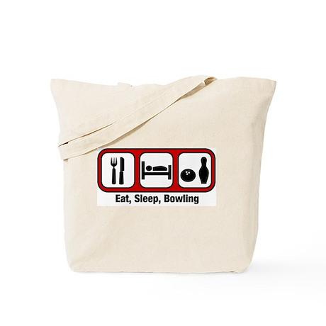 Eat, Sleep, Bowling Tote Bag