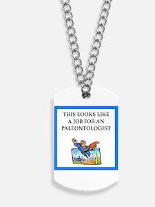 paleontologist Dog Tags