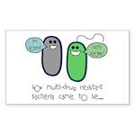 Let's Evolve Rectangle Sticker