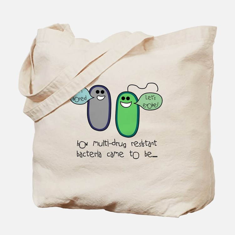 Let's Evolve Tote Bag