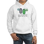 Let's Evolve Hooded Sweatshirt