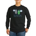 Let's Evolve Long Sleeve Dark T-Shirt