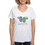 Let's Evolve Women's V-Neck T-Shirt