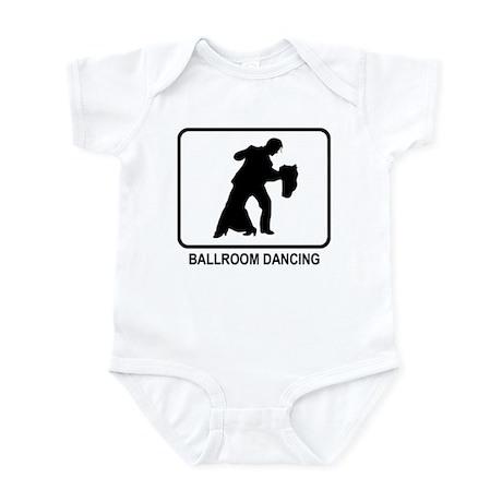 Ballroom Dancing (white) Infant Bodysuit