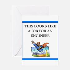 engineeer Greeting Cards