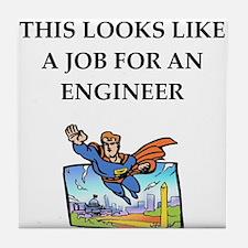 engineeer Tile Coaster