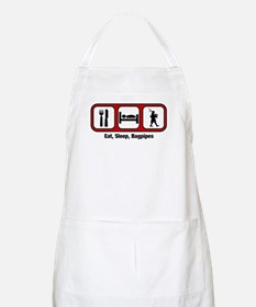 Eat, Sleep, Bagpipes BBQ Apron
