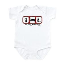 Eat, Sleep, Archaeology Infant Bodysuit